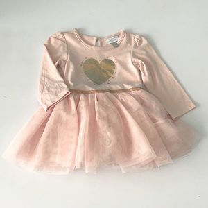 The Children's Place Long Sleeves Tutu Dress
